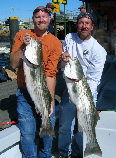 Old Orchard Beach Maine Fishing Charters aboard the Trina Lyn!